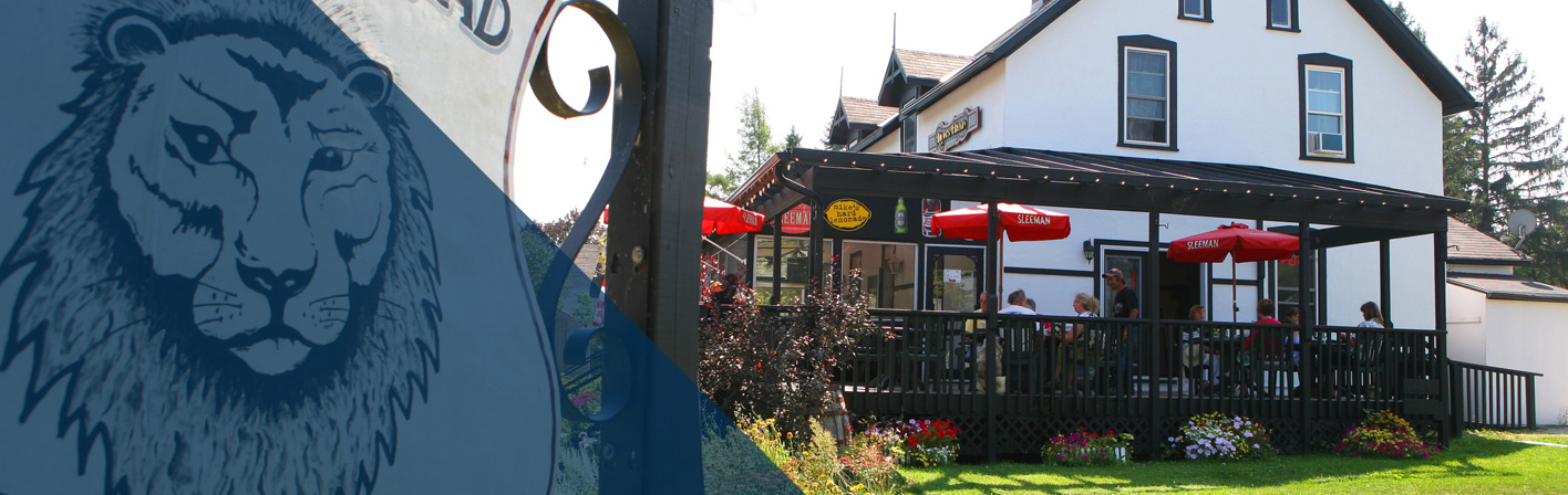 Pub in Lion's Head Ontario